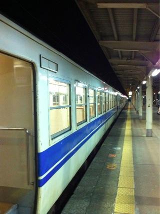 糸魚川駅に到着