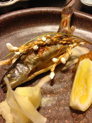焼き物(岩魚)