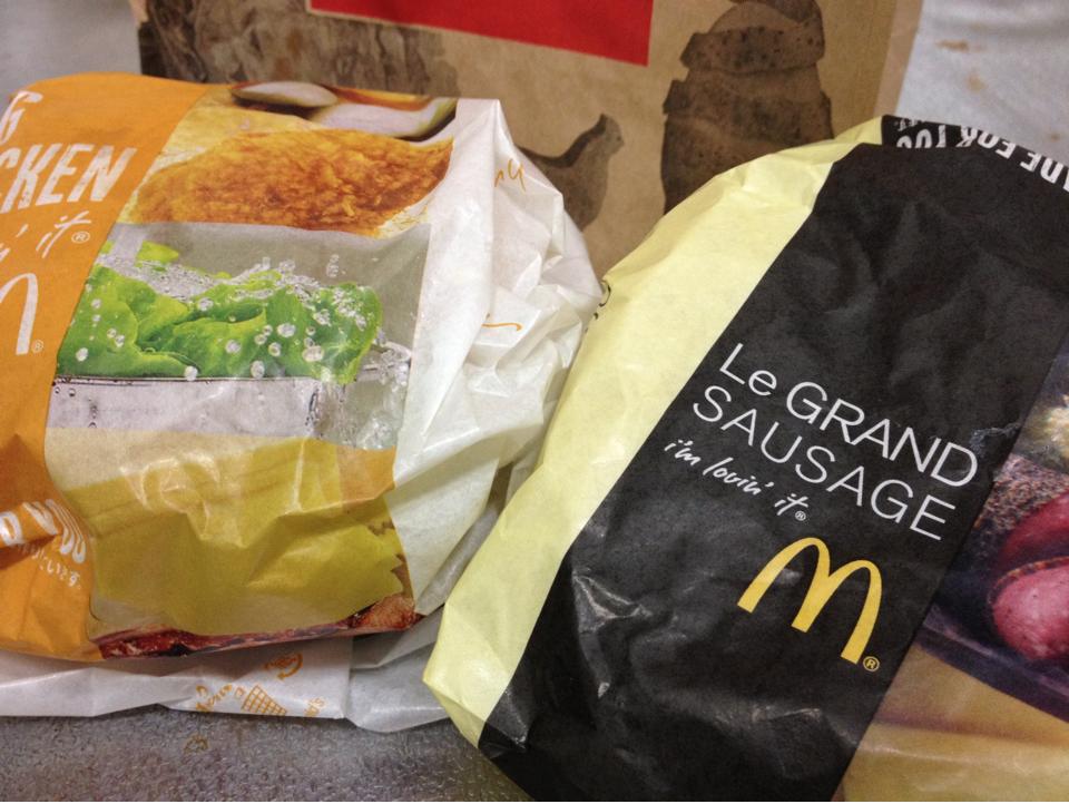 ハンバーガーのカロリーって、やっぱそれなりに高いの。