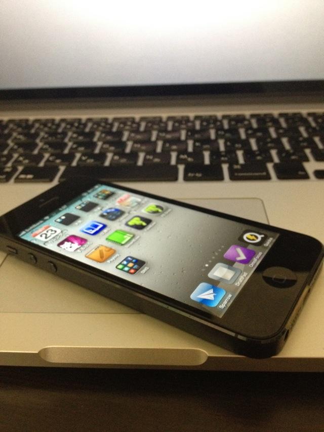 iPhone5 64GB Black SoftBank LTE Fix