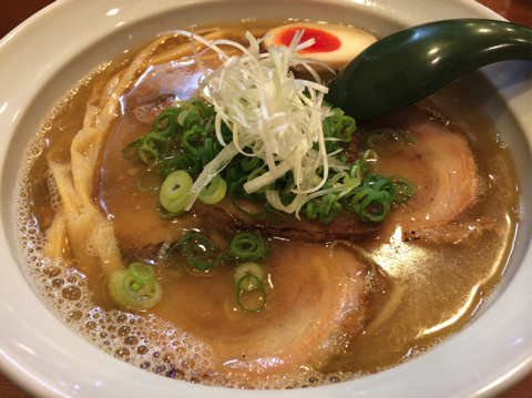 チャーシュー麺の塩
