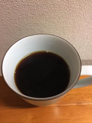 香りをお届けできないのが残念です。3たてコーヒー。